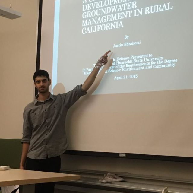 Thesis Defense at Humboldt State University