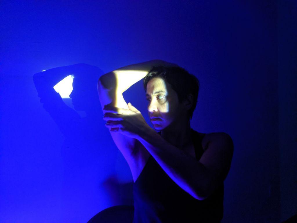 Choreo-projection, Mugwumpin and me